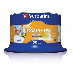 Picture of VERBATIM DVD+R 16X