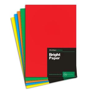 Picture of LIPPYS PAPER A4 80G BRIGHT ASSORTED (100)