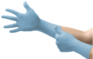 Picture of A1 GLOVES NITRILE (100)