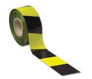 Picture of BARRIER TAPE YELLOW & BLACK 75MMX500M