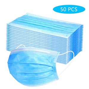 Picture of Disposable Surgical Mask 3ply (50 Pack)